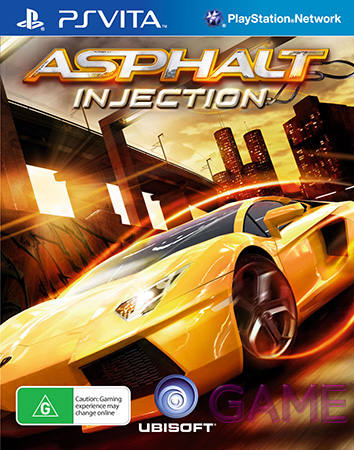 Baixe Asphalt Injection PS Vita