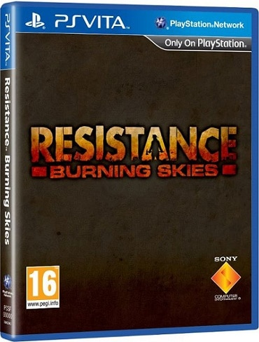 Telecharger Resistance Burning Skies gratuit ps vita