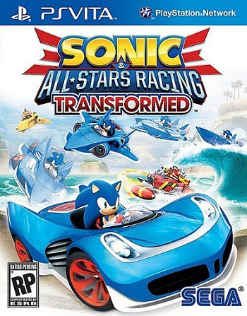 telecharger Sonic All Stars Racing Transformed Ps vita