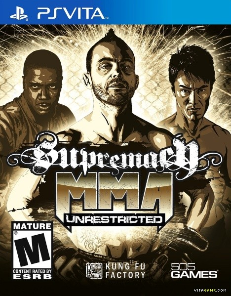 Telecharger Supremacy MMA Unrestricted ps vita gratuit