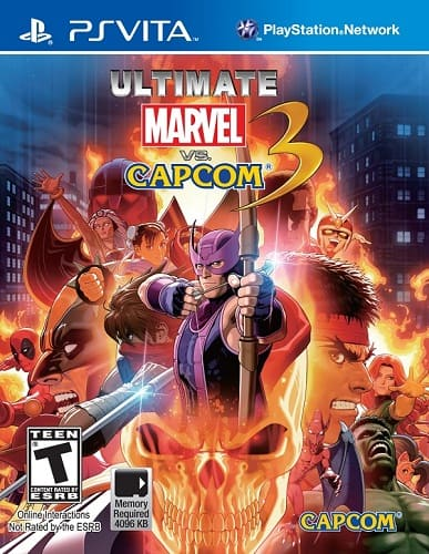 telecharger ULTIMATE MARVEL VS CAPCOM 3 Ps Vita gratuit